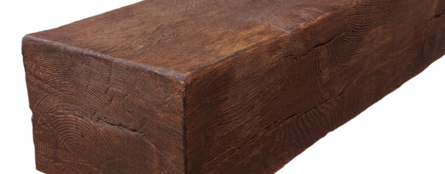 Vigas imitacion madera decorativas rusticas de poliuretano - Vigas imitacion madera leroy merlin ...