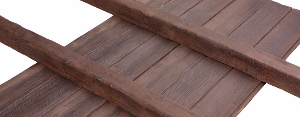 Vigas imitacion madera decorativas rusticas de poliuretano - Paneles imitacion madera ...