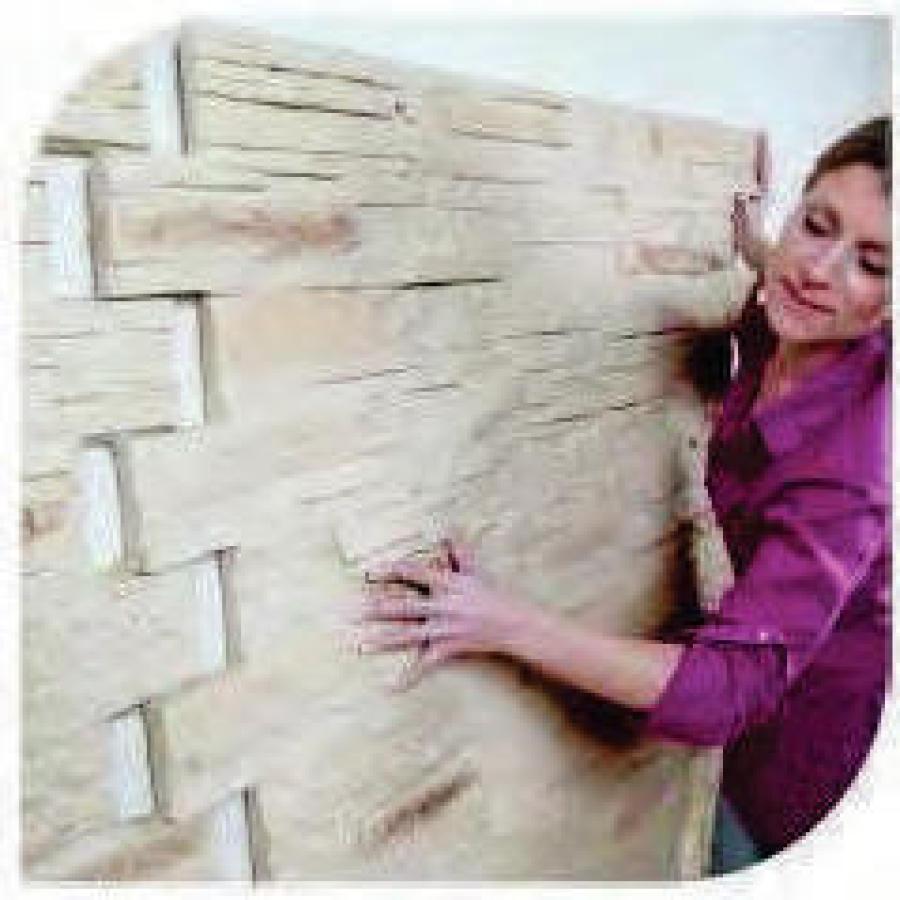 Paneles decorativos imitaci n piedra y ladrillo poliuretano - Imitacion piedra para exterior ...