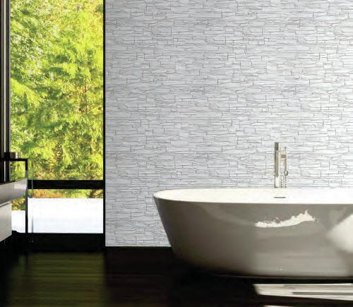 Paneles decorativos imitaci n piedra y ladrillo poliuretano - Paneles decorativos exterior ...
